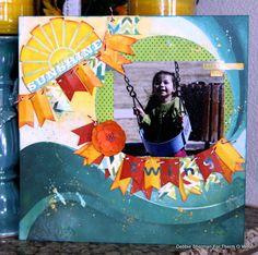 Swing *Bo Bunny DT* - Scrapbook.com