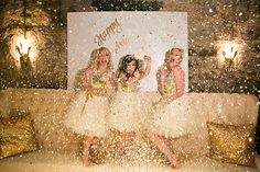 Gold and glitz New Year's party inspiration