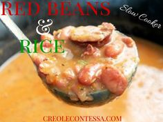 Slow Cooker Red Beans and Rice - Creole Contessa