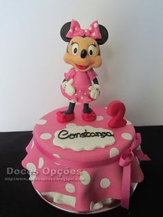 Doces Opções: A Minnie no 2º aniversário da Constança