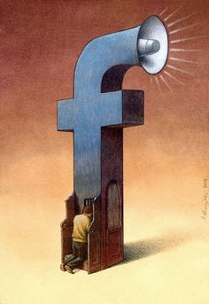 Thought Provoking Paintings By Pawel Kuczynski 30  Todays facebookers.. some of them