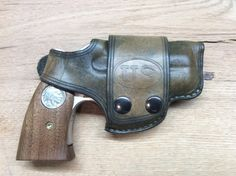 """Vintage"" US holster for Bond Arms derringer By: Todd Korup"