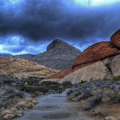 Turtlehead Peak Trail (Red Rock Canyon National Conservation Area) in Las Vegas, Nevada http://www.womenshealthmag.com/fitness/great-hikes/beehive-basin-trail-spanish-peaks-in-the-lee-metcalf-wilderness-area-in-big-sky-montana
