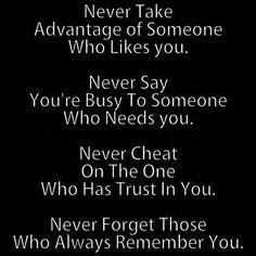 Loyalty + kindness <3