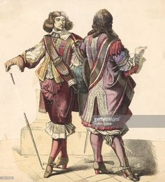 17th century men's fashions circa 1640 News Photo | Getty Images