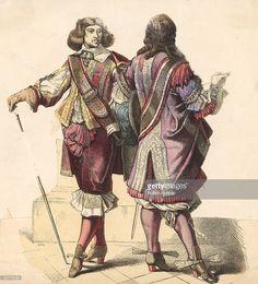 17th century men's fashions circa 1640 News Photo | Getty Images