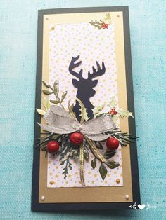 Kartka świąteczna christmas card Boże Narodzenie handmade cards https://m.facebook.com/KastelOfArt