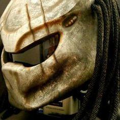 Predator Helmet with LED light_0