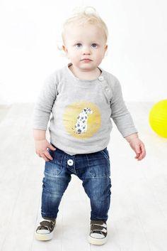 Little Boo-Teek - Baobab Baby Raglan | Baby Boy Clothes | Little Boo-Teek
