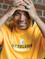 Hines Ward...super hero or just hero? either way, i loved watching him play for the black and gold...