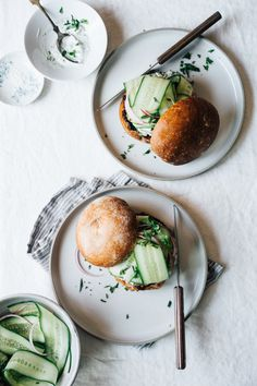 Salmon Burgers with Lemongrass and Ginger | TENDING the TABLE
