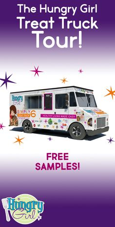 Hungry Girl Simply 6 Food Truck Tour: Samples, Coupons & More at Walmart Hungry Girl Diet, Hungry Girl Recipes, Smoothie Shop, Recipe Builder, Good Sources Of Protein, Trucks And Girls, Protein Pack, Diet Tips, Food Truck