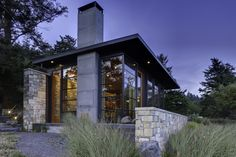 Green Roof House Design San Juan Island |Natural Modern Architecture Firm