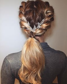 Gorgeous Ponytail Hairstyle Ideas That Will Leave You In FAB - Fabmood | Wedding Colors, Wedding Themes, Wedding color palettes