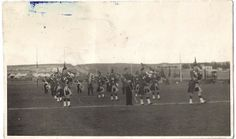 1st KOSB Pipe Band - location unknown
