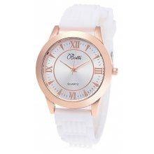 YBOTTI Women Simple Rubber Band Wrist Watch