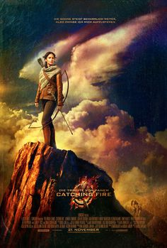 Hunger Games: Catching Fire [German Poster]