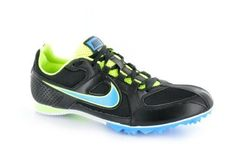 Nike Unisex Air Zoom Rival 6 Middle Distance Running Spikes  11  Black -- Check out this great product.