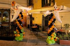 Halloween balloons decoration palloncini grosseto ghost