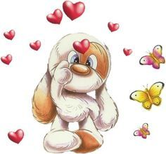 Mylo & Friends   Mylo on Pinterest   Clip Art, Friends and Cute Bows
