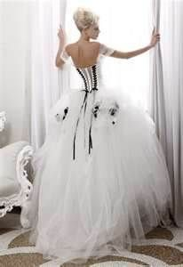 black and white wedding dress - Bing Images