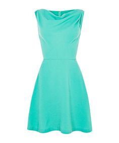 Florent green fit-and-flare dress Sale - Louche Sale