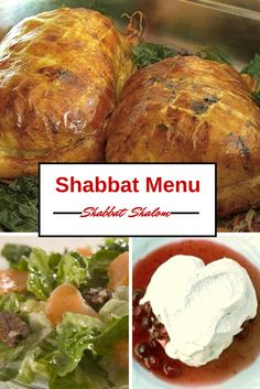 A full Shabbat menu with easy recipes for every course.