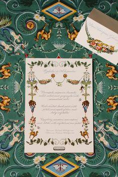 Illustrated Dinner Menus by Wedding Menu, Destination Wedding, Wedding Planning, Stationery Items, Wedding Stationery, Dior Gown, Sintra Portugal, Reception Party, Watercolor Wedding