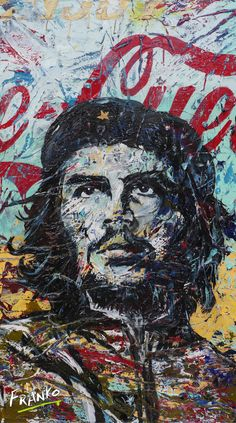 Shop or Commission huge affordable Art created by leading Australian Abstract & Pop artist Franko Wallpaper Iphone Neon, 8k Wallpaper, Che Guevara Images, Pop Art, Ernesto Che Guevara, Paintings For Sale, Abstract Paintings, Australian Art, Affordable Art
