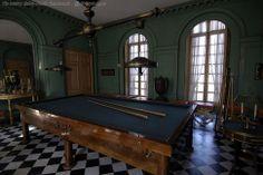 Billiard château Malmaison.
