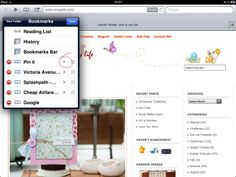 pin it button for ipad tutorial.