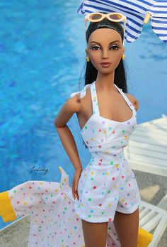 "JAMIEshow Violet Waters ~ in AD ""Poolside"" ~ Image and styling by JinCincy (Jackie) ~ The Studio Commissary/kw"