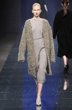 #sweater #dress in Anteprima collection Fall-Winter 2013-2014 :: Milan Fashion Week