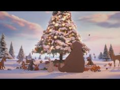 The John Lewis Christmas Ad Is Here. Called 'The Bear And The Hare', the John Lewis commercial looks more very much like a classic Disney cartoon but with the magical touch of the retailer's. John Lewis Christmas Ad, Noel Christmas, Christmas Music, All Things Christmas, Christmas 2019, Christmas Poster, Christmas Tv Adverts, John Lewis Advert, Tis The Season