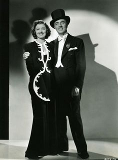 Nick and Nora Charles aka Myrna Loy and William Powell     *It is my fondest dream for the hubs and I to be like them.Funny, charming,great fashion sense,a fabulous abode,cocktails till dawn,ability to solve  complex crimes in an hour and a half...Oh the life.*