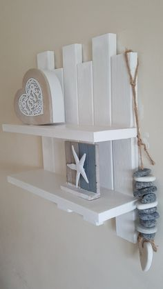 shabby chic shelving by ShelvesWorks on Etsy