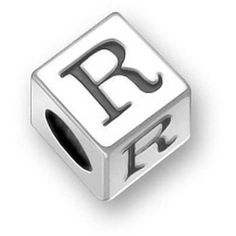 Bling Jewelry Bling Jewelry 925 Sterling Silver Block Letter R Pandora... ($18) ❤ liked on Polyvore featuring jewelry, pendants, silver tone, charm pendant, sterling silver jewelry, graduation charms, initial jewelry and sterling silver initial charm