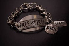 Unleash your free spirit in this handmade bracelet. be inspired!   http://charmingtondesigns.com/