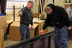 Retro Systems CNC cutting machine advanced installation, operation, & service training course.
