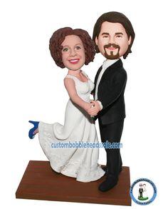 Customized Dance Wedding Bobbleheads Save The Last Dance-Dancing