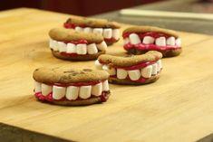 Recette de cookies dentiers d'Halloween