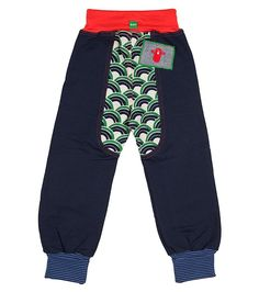 Smashed Up Track Pants - Big, Limited edition clothing for children, www.oishi-m.com