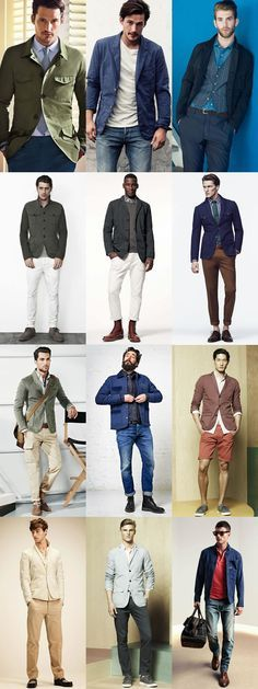 Men's Key Spring Jackets And How To Wear Them: The Cotton Jacket Lookbook Inspiration