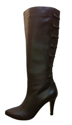 8725cf62fdc Ros Hommerson Women s Tanya Extra Wide Calf Boot (Brown) - FINAL SALE - Extra  Wide Calf Boots