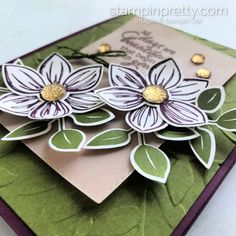 NEW! Floral Essence & Perennial Flower Punch | Stampin Pretty