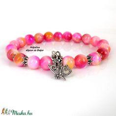TavaszNyárŐszTél kollekció – jáde ásvány karkötő, tavasz pillangója (NikoLizaEkszer) - Meska.hu Jade, Beaded Bracelets, Jewelry, Fashion, Jewellery Making, Moda, Jewels, Fashion Styles, Pearl Bracelets