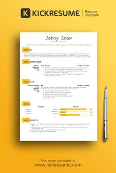 create perfect minimalistic resume in minutes and get hired faster wwwkickresumecom