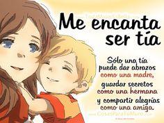 Frases Bonitas Para Facebook: Me Encanta Ser Tia