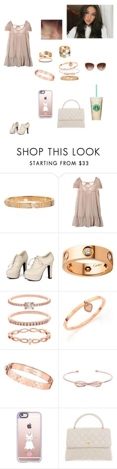 """""""Untitled #1006"""" by mariaxl ❤ liked on Polyvore featuring Cartier, Sidewalk, Accessorize, Michael Kors, Louis Vuitton, Ted Baker, Casetify, Chanel and Oliver Peoples"""