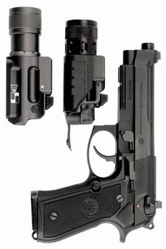 Beretta pistol and options. This was my service weapon in the SAPF. I miss my baby.